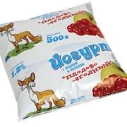 Йогурт питьевой плодово-ягодный 1,5%, 500г фото