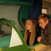 Обучение детей полётам на тренажере МиГ-21 фото