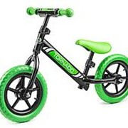 Детский беговел Small Rider Tornado черно-зеленый фото