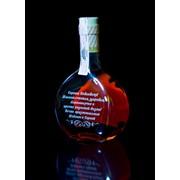 Гравировка на сувенирных бутылках фото