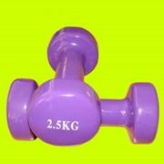 Гантели для фитнеса 2шт. по 2,5кг фото