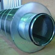 Глушитель шума трубчатый круглый ГТК фото