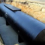 Строительство вертикального стального резервуара фото