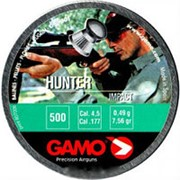 Пули пневматические GAMO Hunter 4,5 мм 0,49 грамма (500 шт.) фото