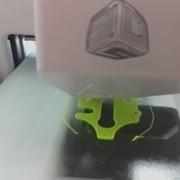 Переделка 3D принтера Cube2 для печати обычным филаментом фото