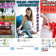 Наборы для роддома в Молдове,Valiza pentru maternitate in Moldova фото