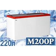 Морозильный ларь с прямым стеклом JUKA M200P фото