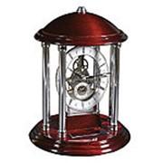 Часы «Его превосходительство», серебристый/красное дерево фото