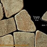 Камень песчаник окатанный фото