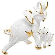 Скульптура Слон со слоненком 44х37х19см. арт.AHURA-102 фото