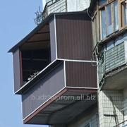 Балкон ремонт, пристройка, расширение, укрепление фото