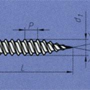 Винт самосверлящий с шайбой термообработанный, наконечник - остриё, оцинкованный ТУ BY 400024166.011-2008 фото