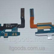 Шлейф (Flat cable) с коннектором зарядки, микрофона для Samsung Galaxy Note 2 N7100 | N7102 | N7105 | N7108 4671 фото