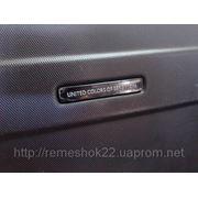 Ремонт трещины на чемодане United Colors of Benetton фото