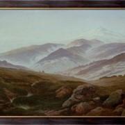 Картина Исполиновы горы (Воспоминания об Исполиновых горах) , Фридрих, Каспар Давид фото
