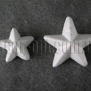 Звезда пенопластовая 3,5 см 7336 фото