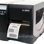 Промышленный принтер этикеток Zebra ZM600 фото