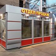Уличный павильон UNIT A 09 (6х2,5 м) фото
