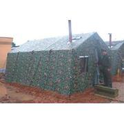 Пошив под заказ армейских палаток различных размеров и разного предназначения с брезента фото