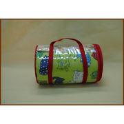 Упаковка для текстиля и текстильной продукции транспортная упаковка упаковка поливинилхлоридная упаковки из ПВХ на змейке для одеял пледов подушек постельного белья махровых изделий фото