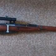Макет ММГ снайперская винтовка Мосина с прицелом ПУ фото