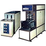 Полуавтомат выдувной МР-5 установка для раздува бутылок из ПЕТФ преформ емкостью от 0.5 до 5.0 л бтылка применяется для розлива газированных напитков а также растительного масла и других пищевых продуктов. фото