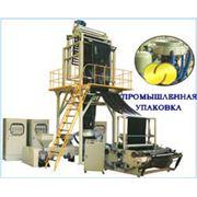 Линии для производства пленочных материалов Линия для производства многослойных материалов из полиэтилена фото