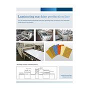 Оборудования для ламинирования плёнка PVC на гипсокартонном листе фото