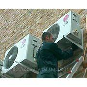 Демонтаж кондиционеров в Запорожье фото