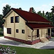 Дом из профилированного бруса 9х8 фото