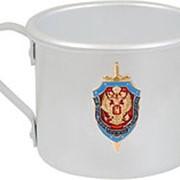 Кружка алюминиевая ФСБ РФ фото