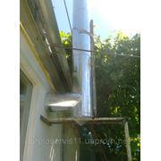 Гильзование дымоходов и установка вент. труб в Черкассах. фото