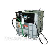 Мобильный топливный заправочный модуль для ДТ на базе Еврокуба, 1000 литров, 12 вольт фото