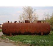 Подземный резервуар, емкость для сжиженного газа пропана 25 куб м фото