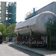 Стационарные резервуары для хранения жидкой двуокиси углерода фото