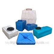 Бочки пластиковые квадратные от 100 до 1000 л фото