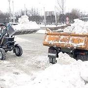 Вывоз снега. фото