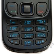 Корпус - панель AAA с кнопками Nokia 1208 black фото