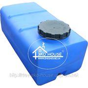 Квадратная пластиковая емкость(бак) 400 литров. фото