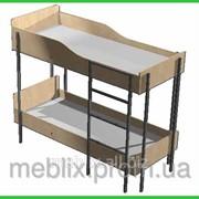 Кровать двухъярусная для общежитий 1970*890*1640h фото