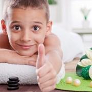 Дитячий масаж фото