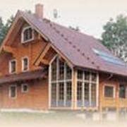 Дома деревянные, срубы фото