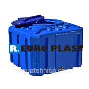 Емкости квадратные пластиковые однослойные ROTO EURO PLAST 500л фото