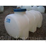 Емкость пластиковая горизонтальная 750л (Симеиз) фото