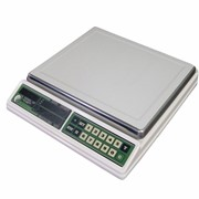 Весы настольные электронные ВЭУ - АВ c 2-хсторонней индикацией фото