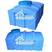 Квадратная пластиковая емкость(бак) 1000 литров. Баки для воды кубовые. фото