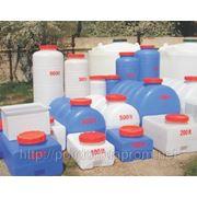 Баки, бочки, емкости, резервуары полиэтиленовые до 10000л. фото