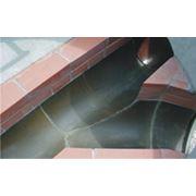 Желоба базальтовые для канализационных стоков. фото