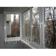 Балконная рама 1300*3100 фото