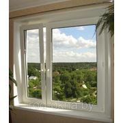 Окно ПВХ 1500*1300 пластиковое в спальню новой планировки фото